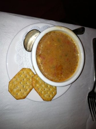 Carriage House Restaurant: Seafood Chowder
