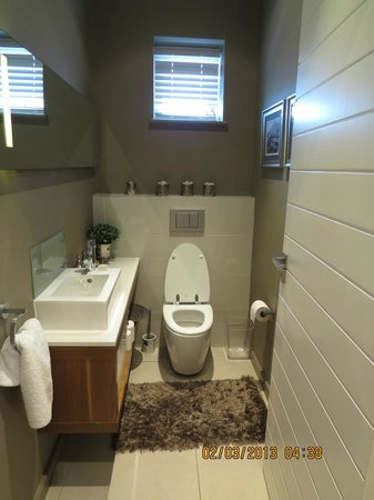 The Residences at Crystal Towers: Bathroom Downstairs