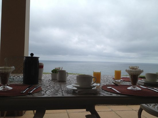 Brenton On The Rocks Guesthouse: breakfast