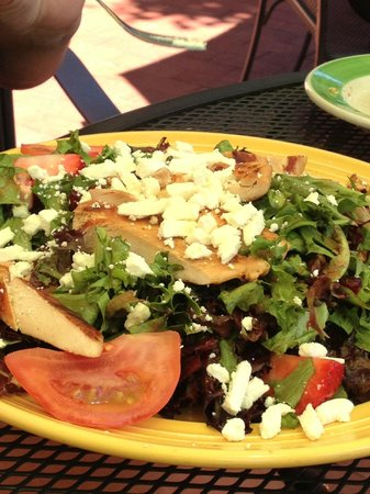 The Flying Biscuit Cafe: My friend's salad was not fresh and overpriced.