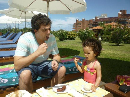 Il Belvedere : Choripan con el Papá