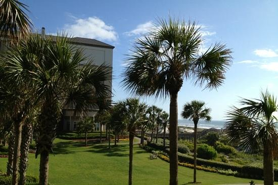 The Ritz-Carlton, Amelia Island: view from our coastline room