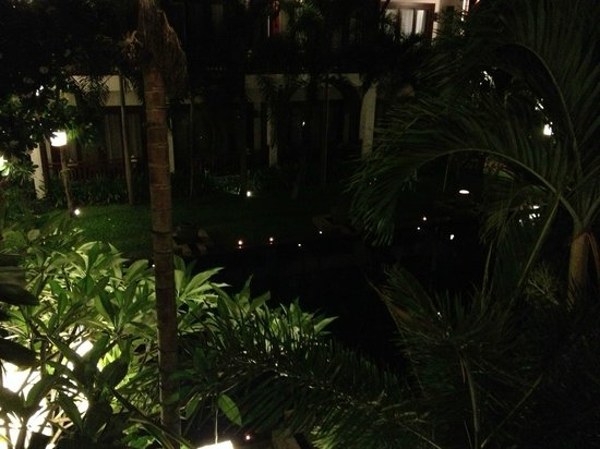 Green Park Boutique Hotel: Night view from room