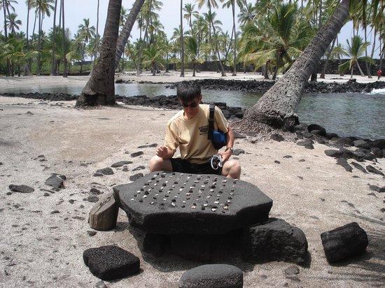 Pu'uhonua O Honaunau National Historical Park: 古代ハワイアンのオセロ?