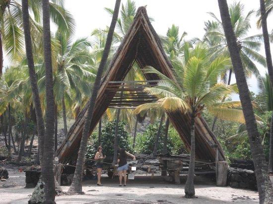 Pu'uhonua O Honaunau National Historical Park: 造船所