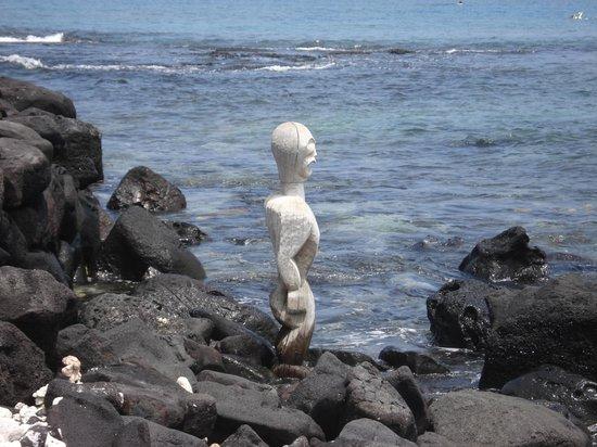 Pu'uhonua O Honaunau National Historical Park: 哀愁すら感じます