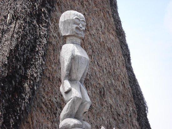 Pu'uhonua O Honaunau National Historical Park: どこか愛嬌のあるティキ?