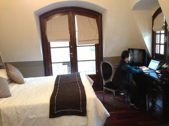 Miravida Soho Hotel & Wine Bar: Terrace loft