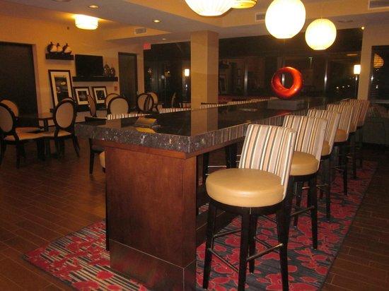 Hampton Inn Scranton at Montage Mountain: Renovated breakfast area