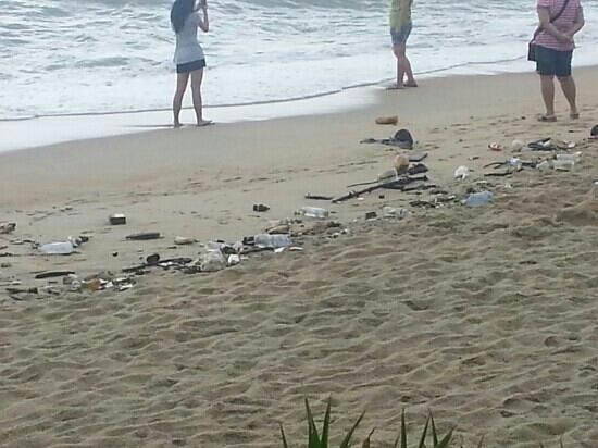 PARKROYAL Penang Resort, Malaysia: dirty beach