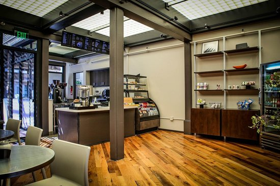 Element Coffee and Tea Bar: Front Counter