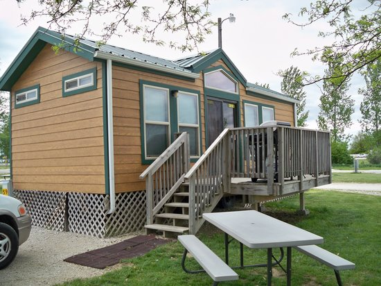 Des Moines West KOA: Lodge