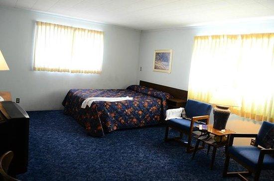 Al's Westward Ho Motel : Room 23, front bed, family area