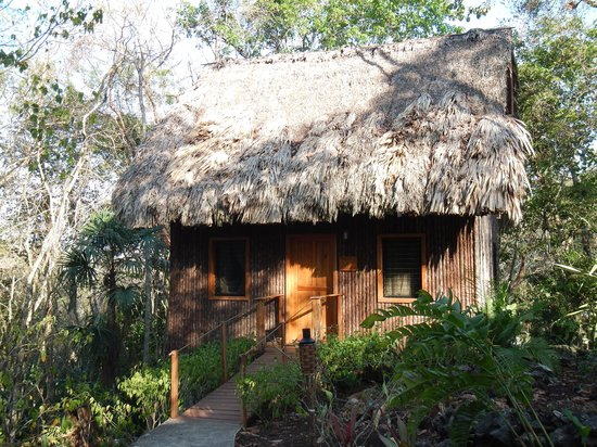 Mariposa Jungle Lodge : Outside Private Cabana