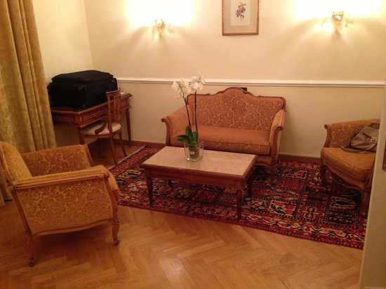 "Imperiale Palace Hotel : The ""suite"""