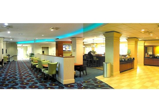 Hampton Inn Ft. Lauderdale /Downtown Las Olas Area, FL.: Panorama of breakfast room