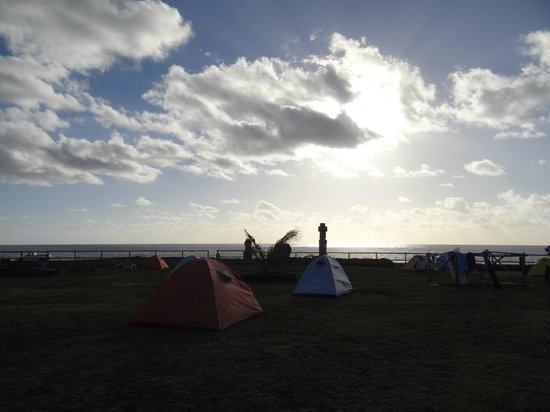 Camping Mihinoa: the camp ground