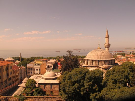 Stone Hotel : Marmara Seascape from the Roof Top