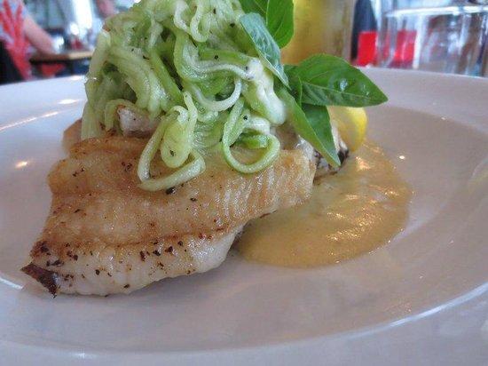 Seabreeze Cafe & Bar: amazing butterfish
