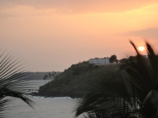 Bogmallo Beach Resort: sun set from room