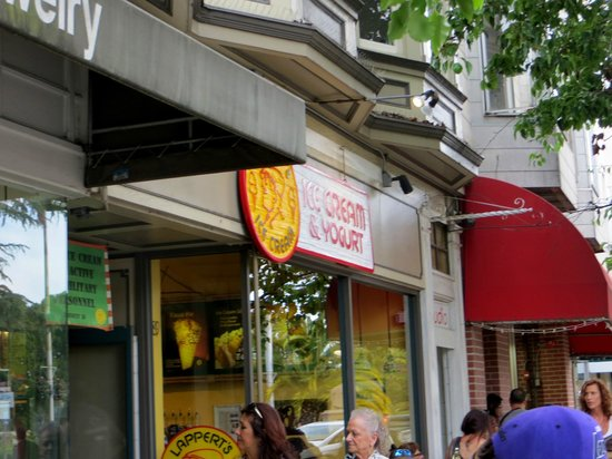 Lappert's Ice Cream: Store front