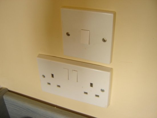 The St. George's Park Hotel: No european AC adapters