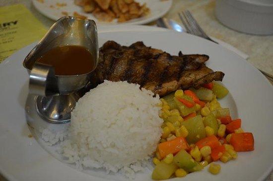 Meat Plus: Pork chop meal