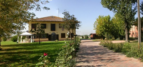 Villa Olga Bed and Breakfast : Vista frontale B&B con parcheggio sulla destra