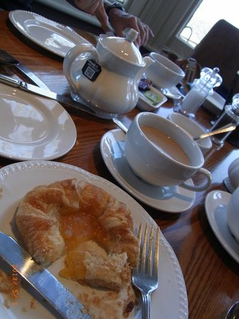 The Rising Sun Hotel: pastries choices - breakfast time