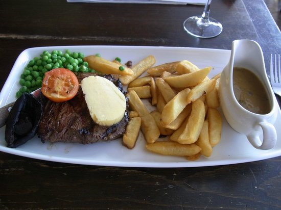 The Rising Sun Hotel: special steak set