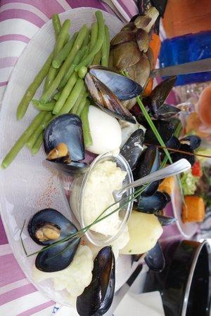 La Marine : aioli ohne bulots bestellt. bulots mag ich nicht