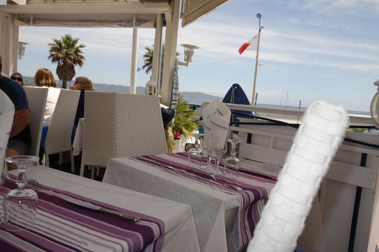 La Marine : toller Blick