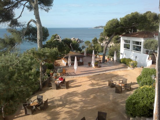Silken Park Hotel San Jorge: terrazza mare
