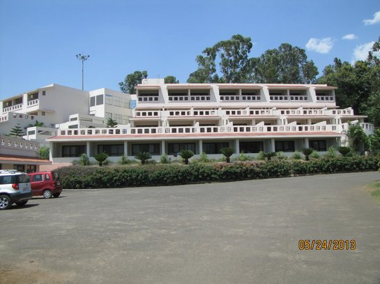 Resort from front picture of aptdc haritha mayuri - Araku valley resorts with swimming pool ...