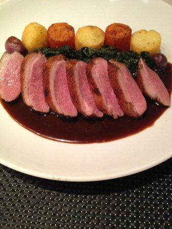 Abacus Restaurant, Garden & Bar: Duck breast