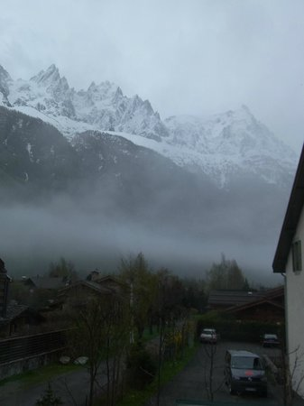 Hotel Les Lanchers: View from room-1