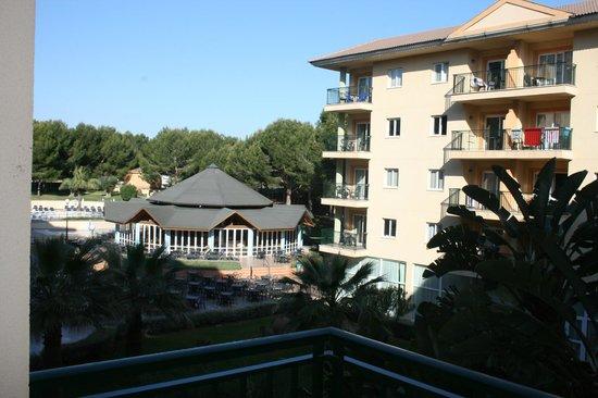 Aparthotel Ca'n Picafort Palace: Blick von #2108