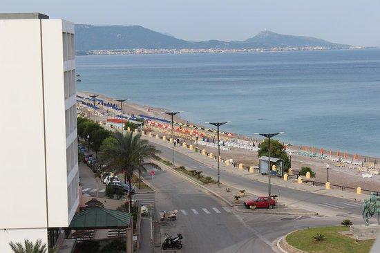 Europa Hotel Rooms and Studios: вид из номера на Эгейское море