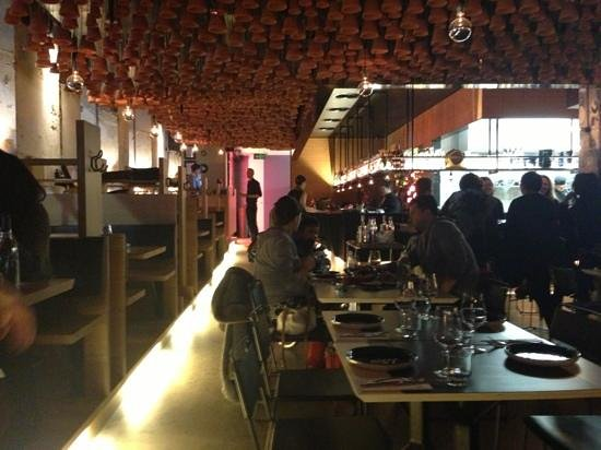 Gazi Restaurant : View of bar & main entrance