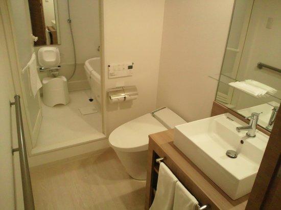 Hotel Sorriso Hamamatsu: バスルーム