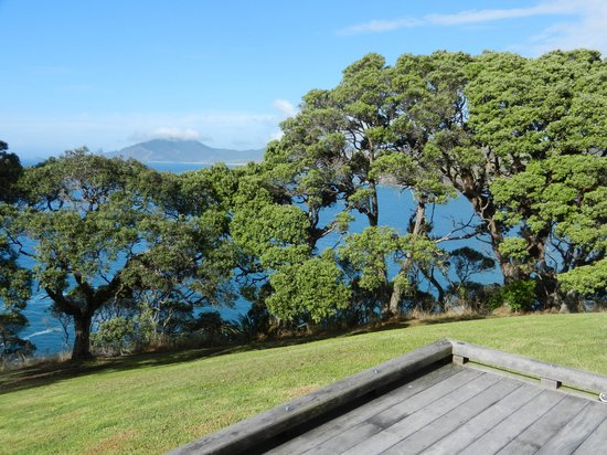 Ara Roa Accommodation - Whangarei Heads: One of the many breathtaking views from the deck