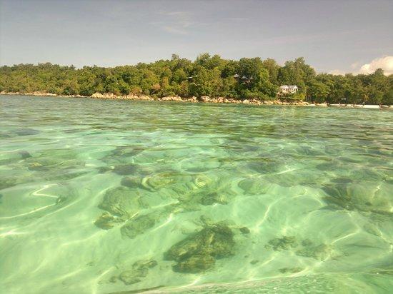 Mali Resort Pattaya Beach Koh Lipe: The beach (photo taken with a filter)