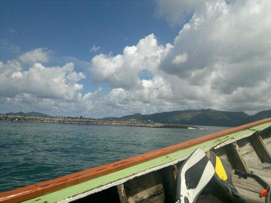 Mali Resort Pattaya Beach Koh Lipe: On a boat
