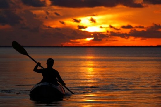 Art's Outdoor Outfitters: Sunset kayaking....
