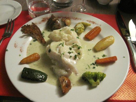 Hotel restaurant le Speranza: Carte très appétissante et présentation très soignée
