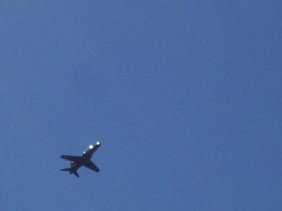 Tafarn Y Rhos: great for plane spotting at Raf Valley