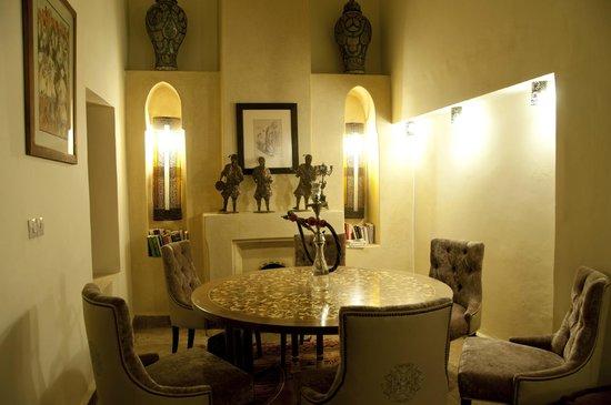 Riad Les Trois Palmiers El Bacha: Salle à manger