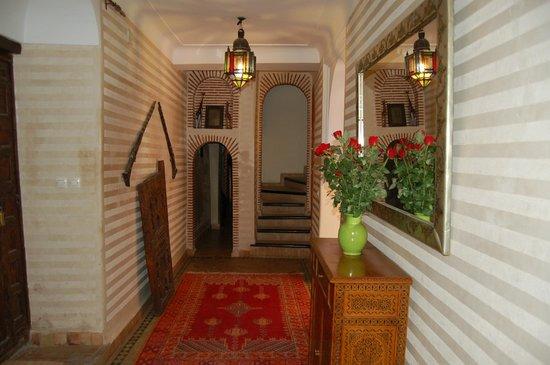 Riad Les Trois Palmiers El Bacha: Accueil