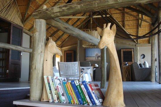 غوها هيلز سافوتي: Camp interior