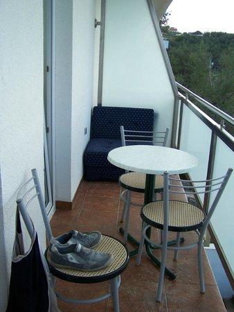 Aparthotel Castrum Novum : Balkon